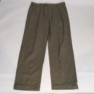 Brooks brothers men's khaki dress pants waist 34""